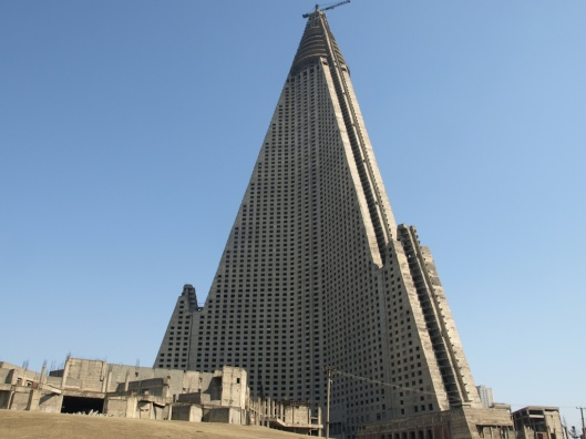 Ryugyong Hotel (unfinished)