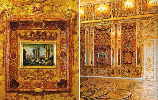 Chambre d ambre curiosit s de titam - La chambre d ambre photos ...
