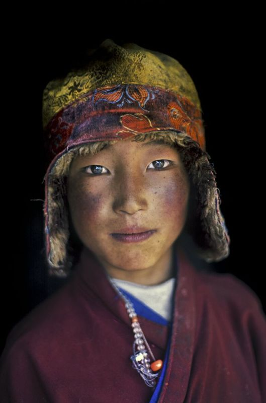 Monk in Degang valley, Kham, Tibet, 2005