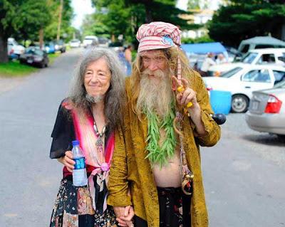 Bearded couple