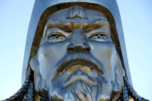 genghis khan Chinggis Khaan statue horse equestrian mongolia 11