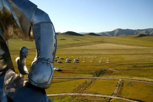 genghis khan Chinggis Khaan statue horse equestrian mongolia 13