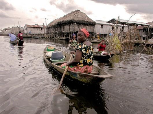 Ganvié Ganvie Benin West Africa 2