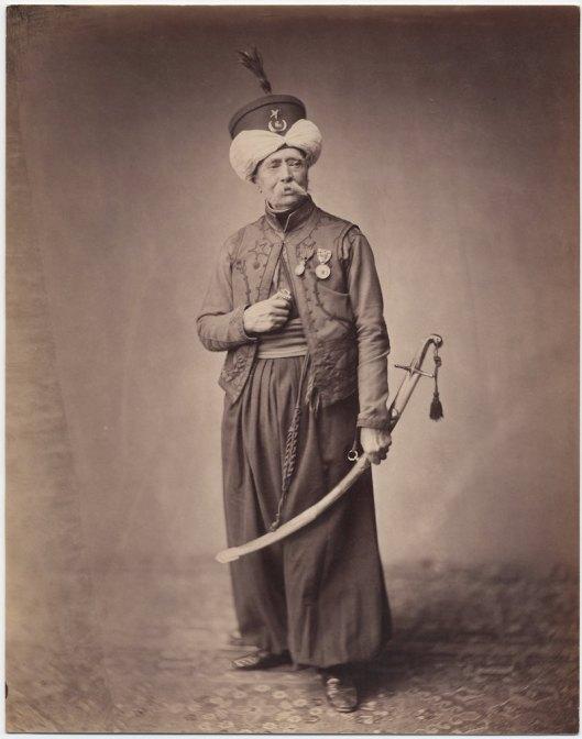 Monsieur Ducel Mameluke de la Garde  1813-1815.