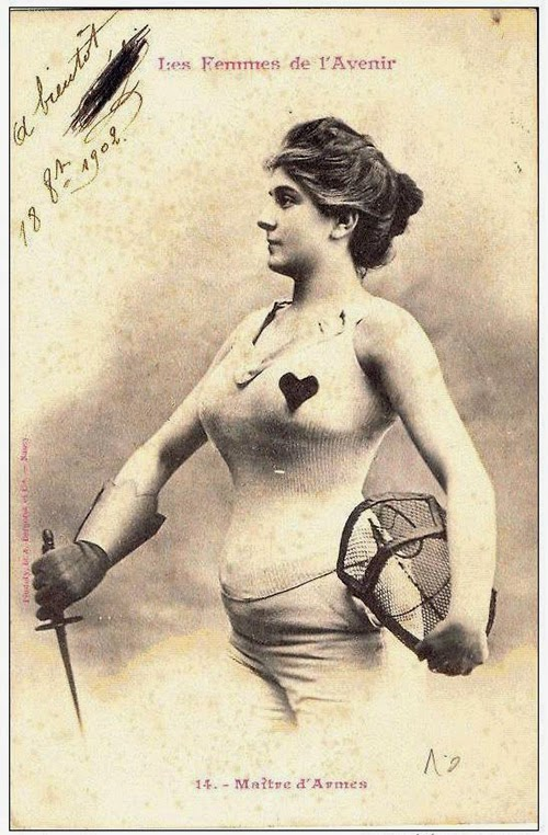 Women of the Future Trading Cards, 1902 (3)