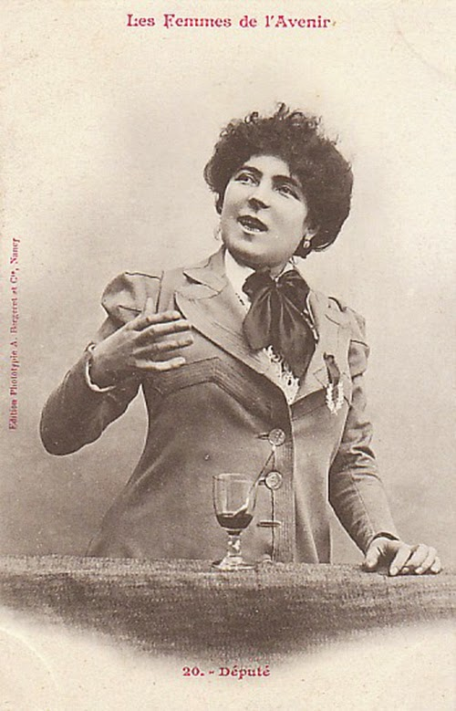 Women of the Future Trading Cards, 1902 (6)