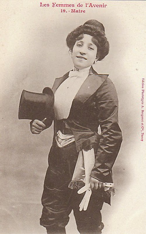 Women of the Future Trading Cards, 1902 (7)