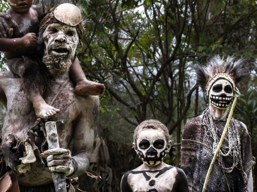 Skeleton people of the Highlands