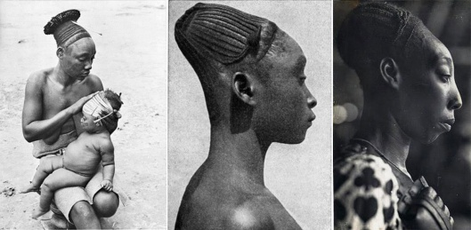 An elongated head was an ideal of beauty among the Mangbetu people, 1930 (3)
