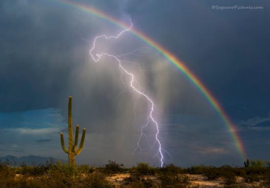 Rainbow-Lightning