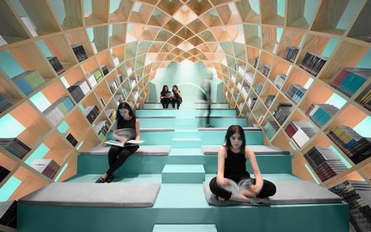 anagrama-conarte-library-interiors-monterrey-mexico-designboom-01-818x512