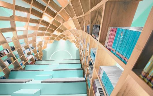 anagrama-conarte-library-interiors-monterrey-mexico-designboom-02