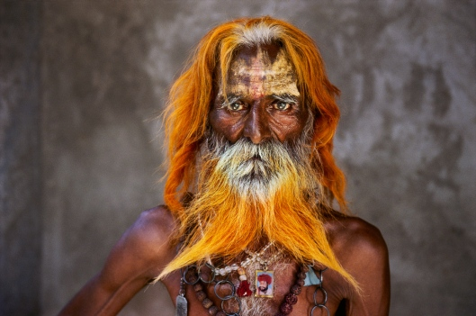 An elderly man from the Rabari Tribe poses for a portrait in Rajasthan, India, in 2010