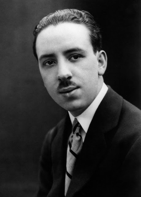 Portrait of a young Alfred Hitchcock, ca. early 1920s