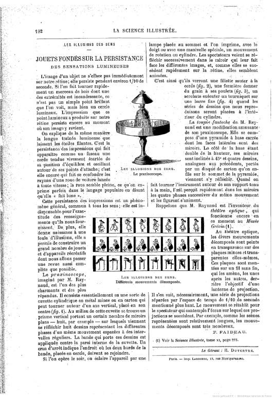 La Science illustrée : journal hebdomadaire, 1894. Source