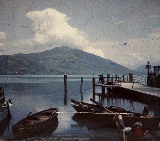 At the Lake Zug, July 1927