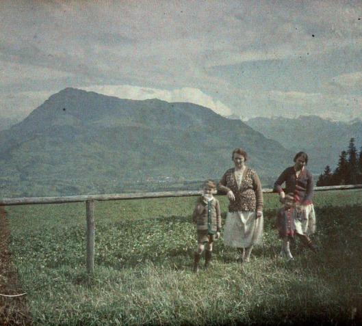 Panorama from Michaelskreuz, Canton of Lucerne, 14 July 1927