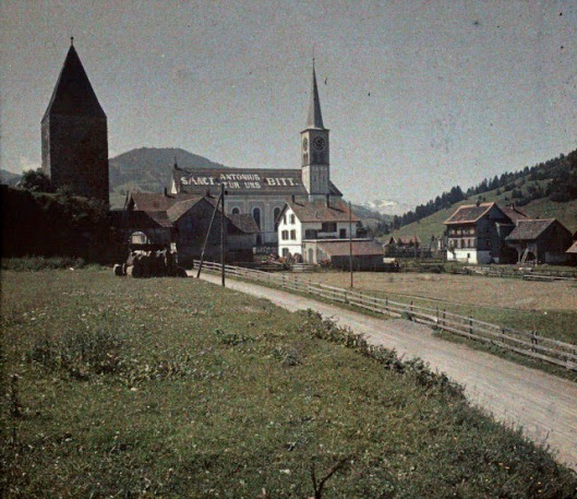 Church of Rothenthurm, Schwyz, 25 July 1927