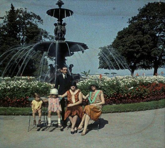 Anglais garden, Geneve, 1930