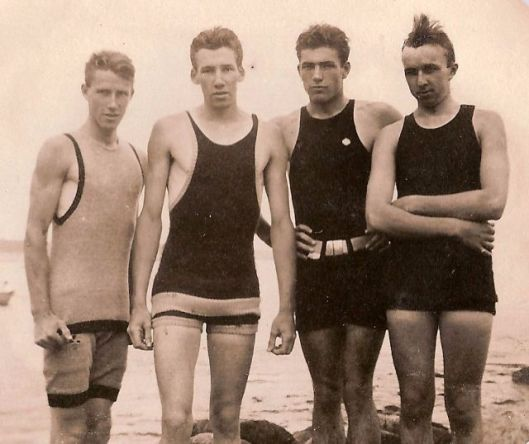 Men in Swimwears in the 1900s (1)