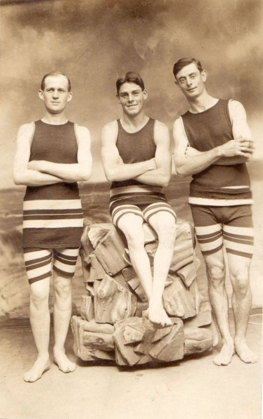 Men in Swimwears in the 1900s (12)