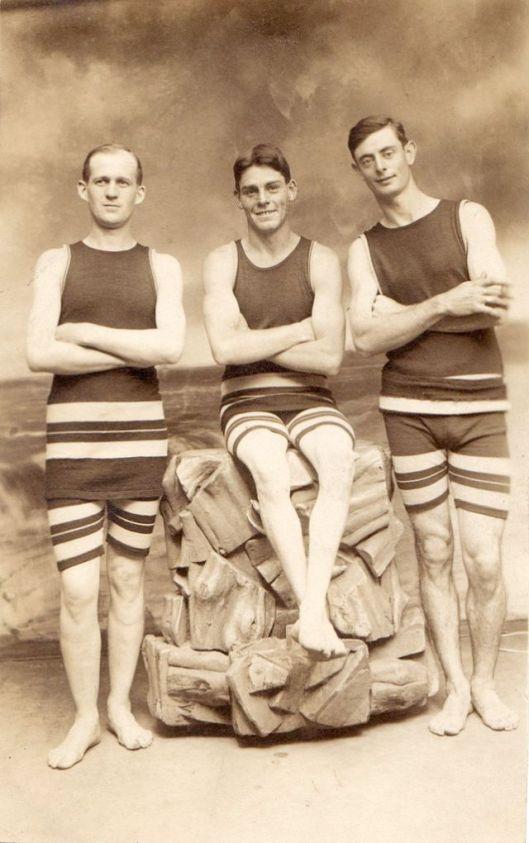 Men in Swimwears in the 1900s (12)