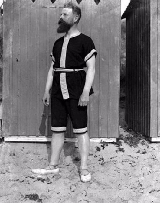 Men in Swimwears in the 1900s (2)