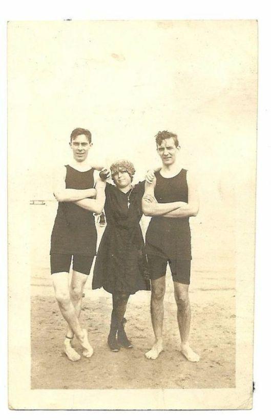 Men in Swimwears in the 1900s (6)