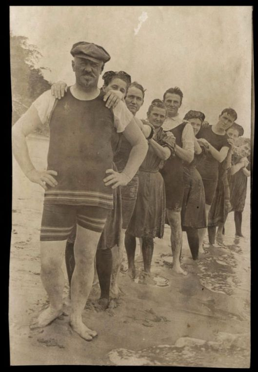 Men in Swimwears in the 1900s (9)