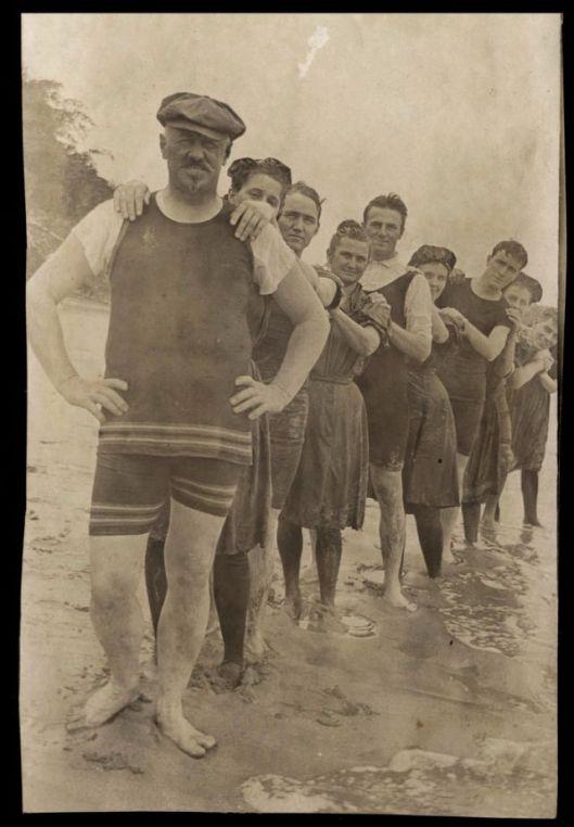Men in Swimwears in the 1900s (9)