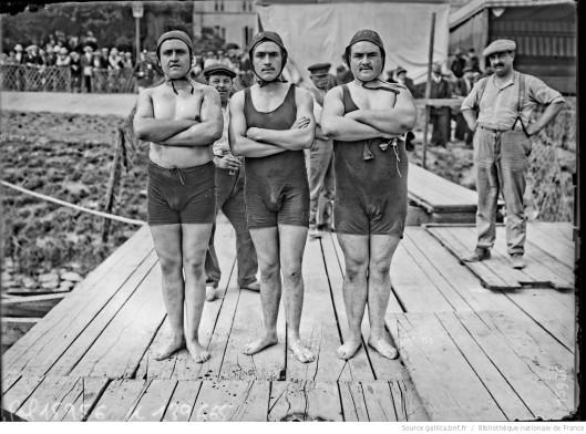 Les trois frères Lavogade. Source