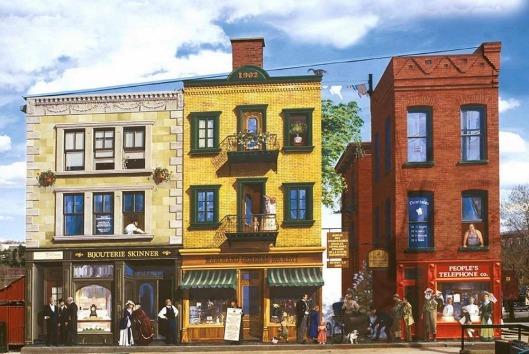 Murale du Bicentennaire de Sherbrooke Sur le circuit des fresques murales de Sherbrooke, à admirer au 143, rue Frontenac