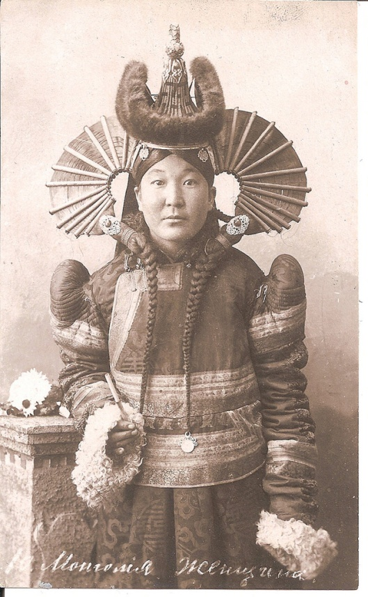 Mongolian Women in Their Traditional Costumes (18)