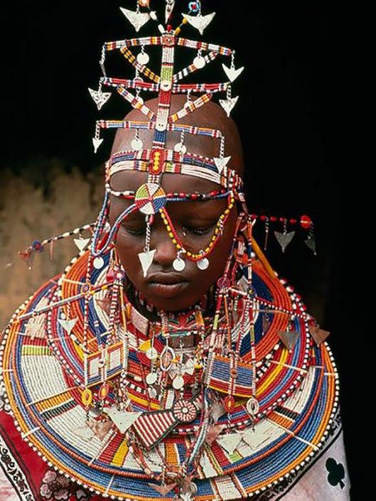 Mariée Masaï, Kenya