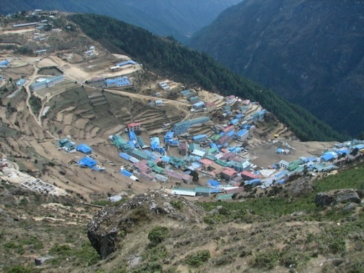 Namche Bazaar. (Photo: McKay Savage/CC BY 2.0) (via)