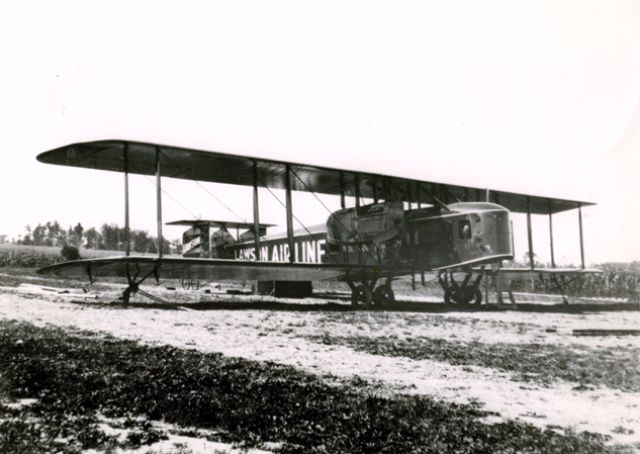 Int rieur d un avion de ligne vers 1919 curiosit s de titam for Interieur d avion